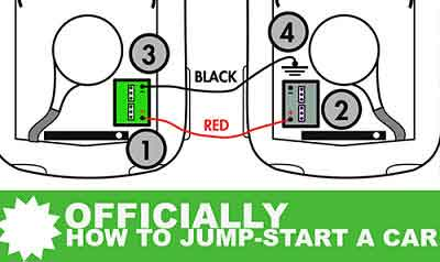 Official: How to Jump-Start a Battery