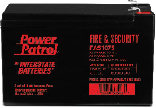 Power Patrol battery