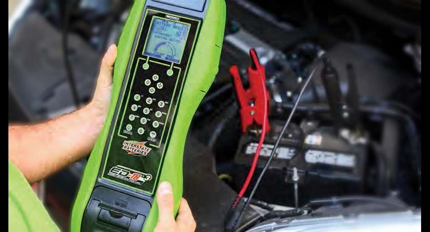 Test de batterie automobile à l'aide de l'ED-18