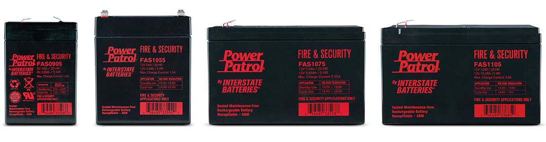 Power Patrol Fire Alarm and Security Systems batteries from Interstate Batteries