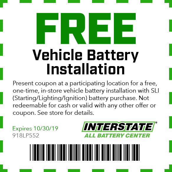 Free Vehicle Battery Installation