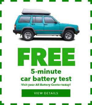 Free 5 Minute Car Battery Test