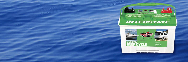 Interstate Deep Cycle Marine Battery >> Marine Deep Cycle Batteries Interstate Batteries