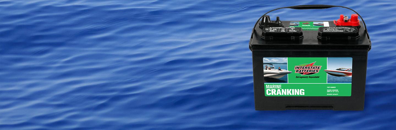 Marine Starting Batteries   Interstate Batteries