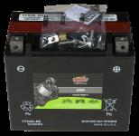 Batería para deportes motorizados con separador de fibra de vidrio absorbente (tecnología AGM)