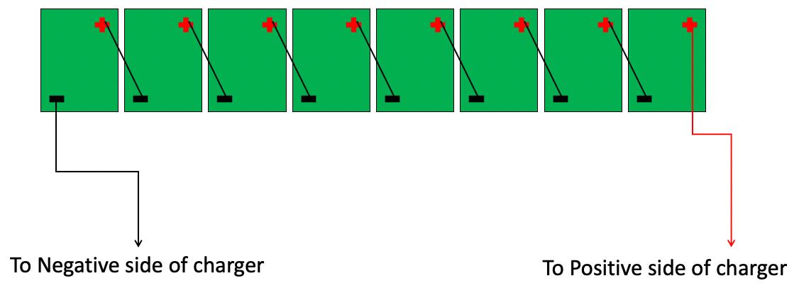 6 Volt Series Connection