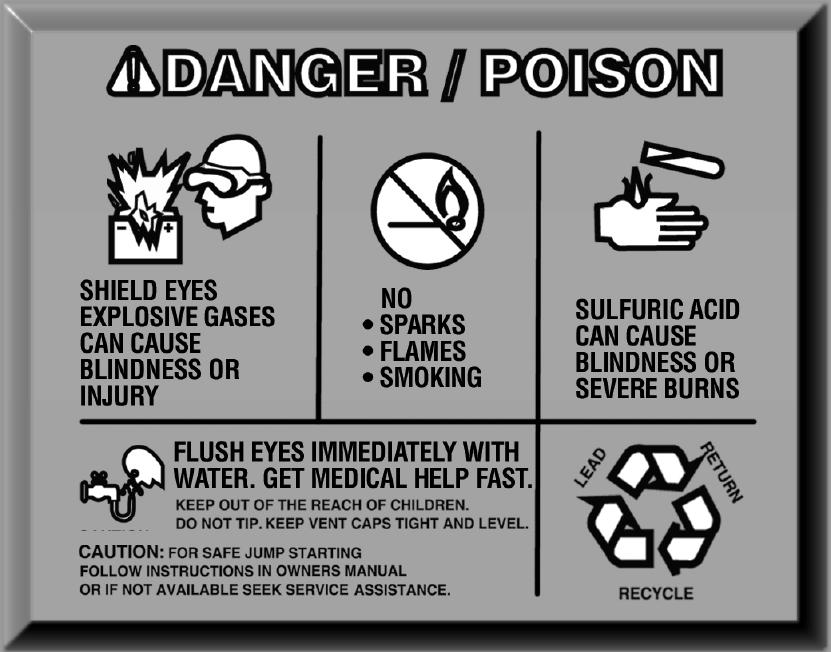 Poison dangers